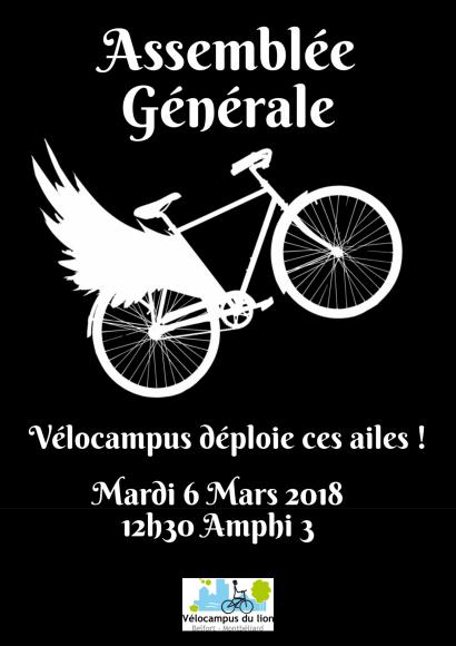 Assemblée générale de Vélocampus du lion - IUT de Belfort-Montbéliard