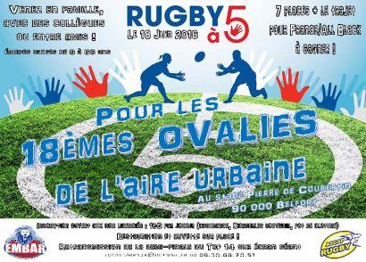 L'IUT de Belfort-Montbéliard relève le défi de l'ovalie le 18 juin à Belfort!