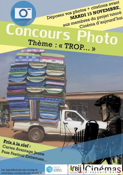 Concours photo à l'IUT de Belfort-Montbéliard à l'occasion du festival Entrevues