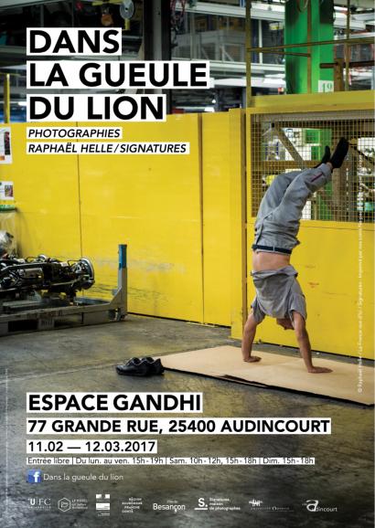 Des étudiants se jettent « Dans la gueule du Lion » avec le photographe Raphaël Helle