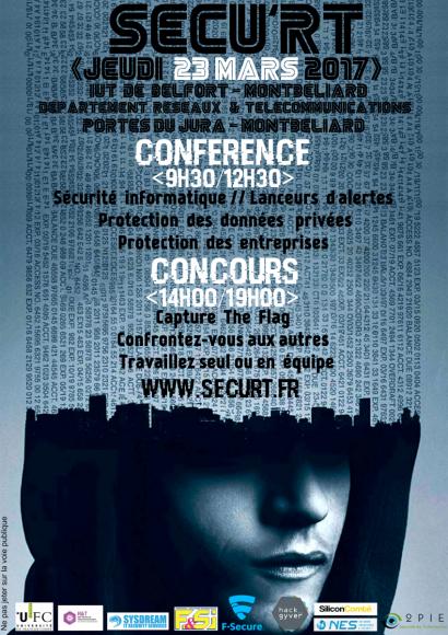 Sécu'RT: une journée d'info sur la sécurité informatique à l'IUT de Belfort-Montbéliard