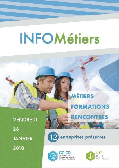 Forum infos-métiers Génie civil - Construction durable