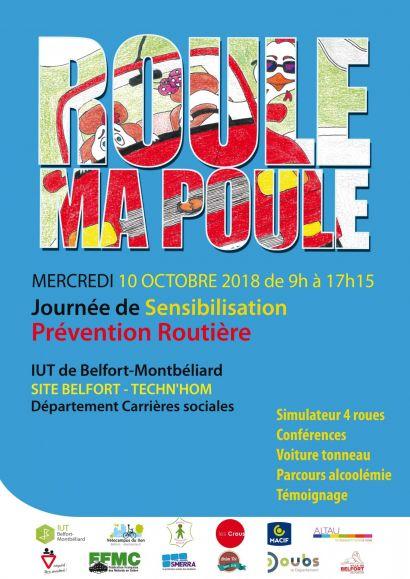 « Roule ma poule » : journée de prévention routière à l'IUT