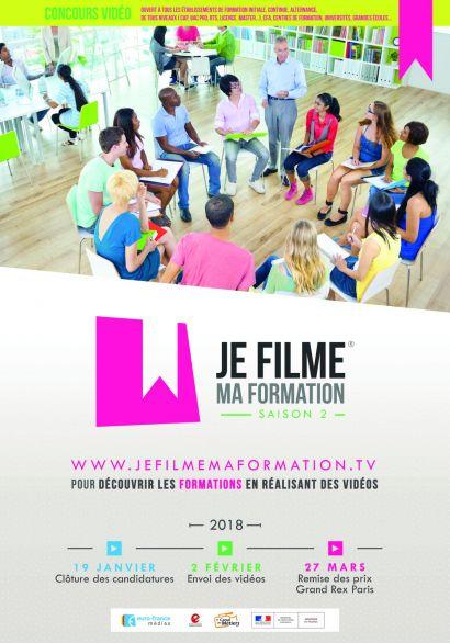 Concours vidéo: les étudiants en licence pro TICAMACO en finale à Paris le 27 mars!