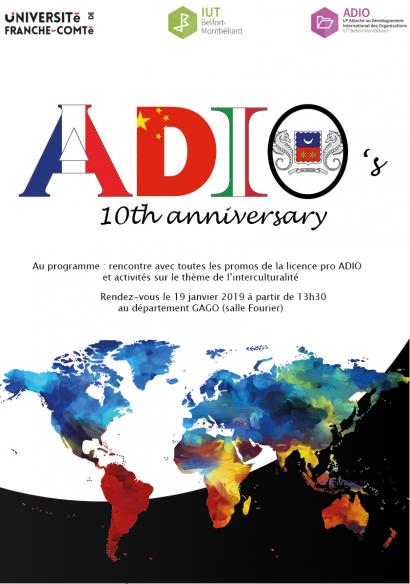 10 ans déjà pour la licence pro ADIO de l'IUT !