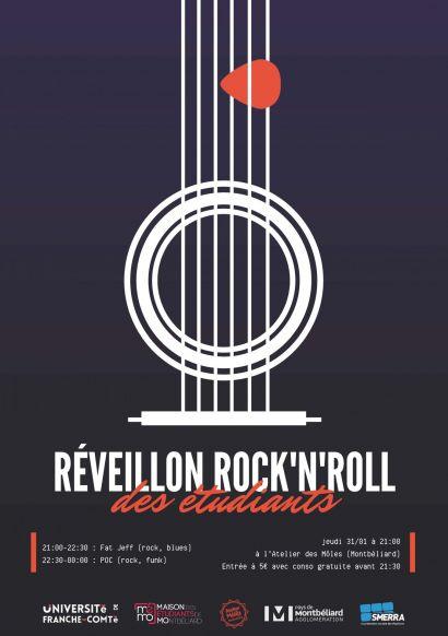 Réveillon rock'n'roll de la MéMO le 31 janvier