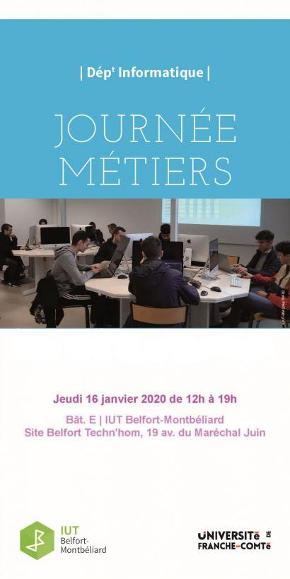 Forum des métiers de l'informatique à l'IUT de Belfort-Montbéliard