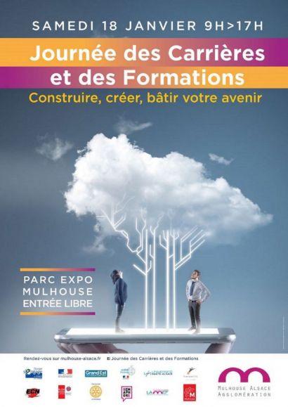 Journée des carrières et des formations 2020 mulhouse