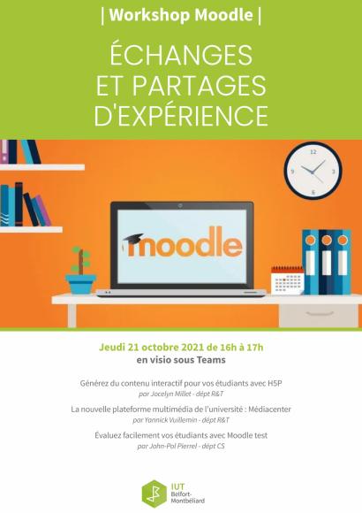 Workshop moodle 21 octobre 2021