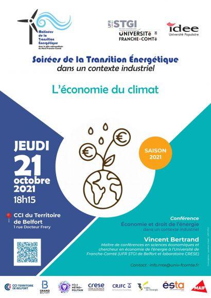Soirées de la Transition Énergétique  dans un contexte industriel - Octobre 2021