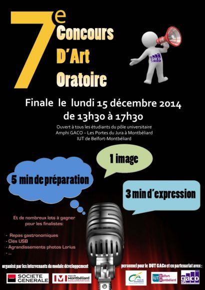 7ème concours d'art oratoire