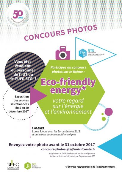 "Concours photos GTE ""Eco-friendly energy"""