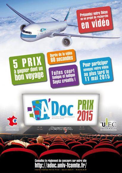 Affiche du prix A'Doc 2015