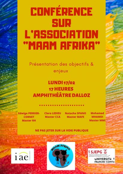 Projet humanitaire association MAAM AFRIKA