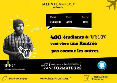 Affiche TalentCampus