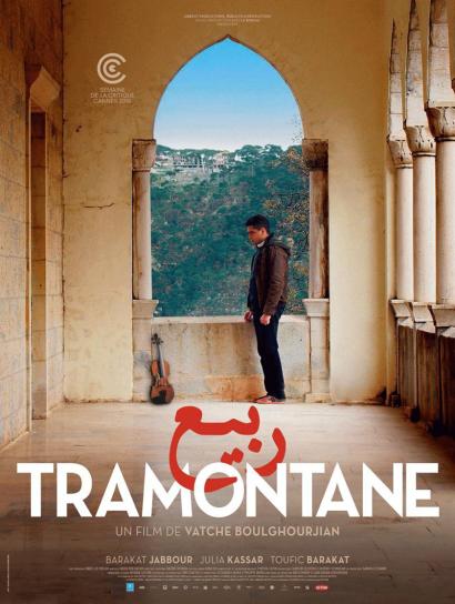 "Affiche du film ""Tramontane"""