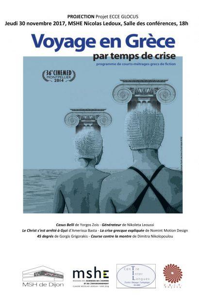 Affiche projection courts-métrages