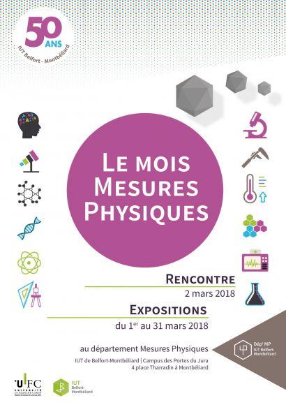 Le département Mesures Physiques fête les 50 ans de l'IUT de Belfort-Montbéliard