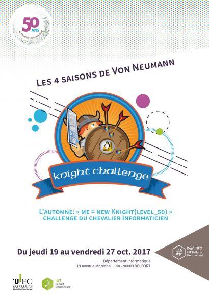 Challenge informatique d'intégration pour les étudiants de DUT INFO  à l'IUT de Belfort-Montbéliard