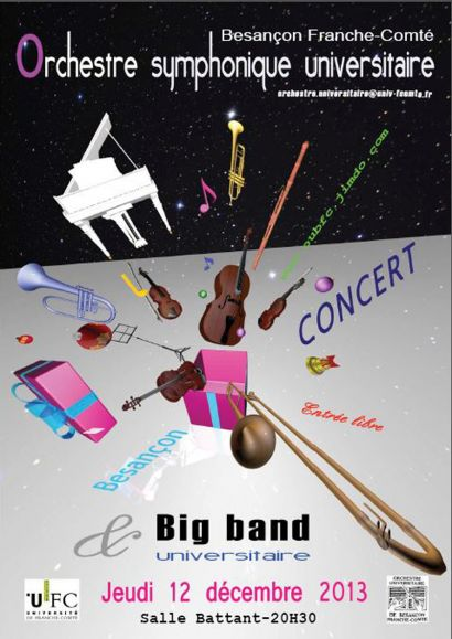 Affiche orchestre universitaire