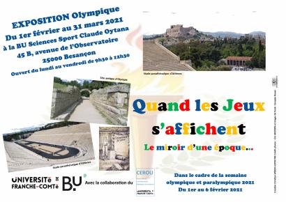 paysages antiques de jeux olympiques