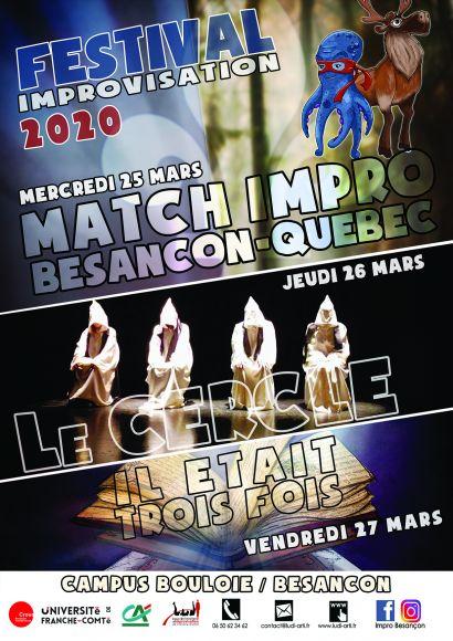Festival 2020 - Improvisation Théâtrale