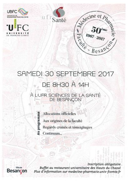 50ème anniversaire UFR SMP