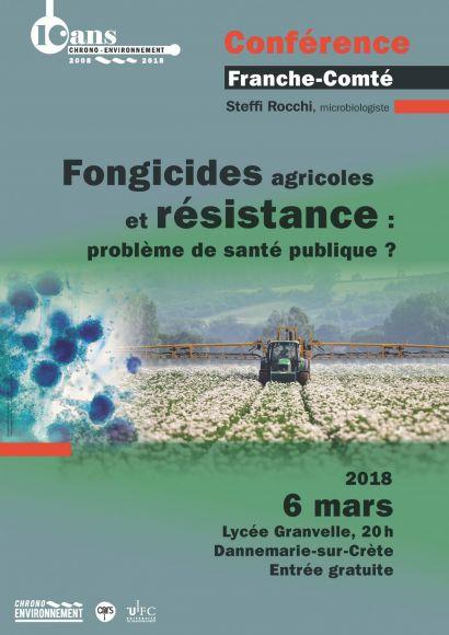 Affiche conférence fongicides
