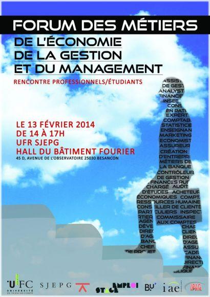 Forum des métiers, affiche