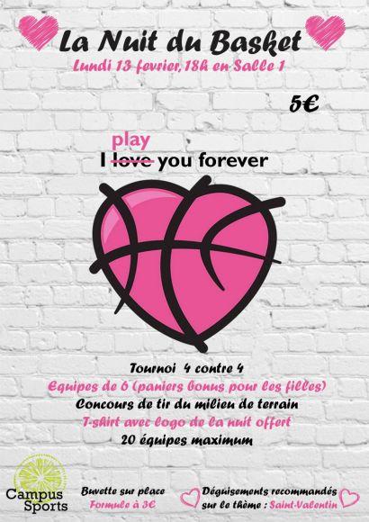 Affiche Nuit du Basket
