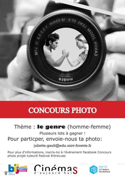 Concours photos Entrevues jusqu'au 28 octobre