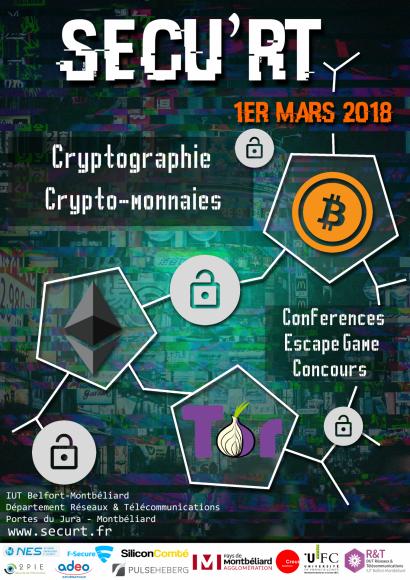 Sécu'RT : sécurité informatique, cryptographie et cryptomonnaies