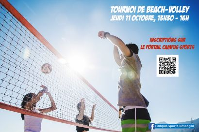 Affiche Beach Volley