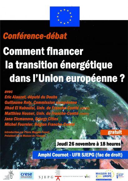 Affiche de la conférence-débat
