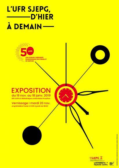 affiche Expo ufr sjepg d'hier à aujourdhui