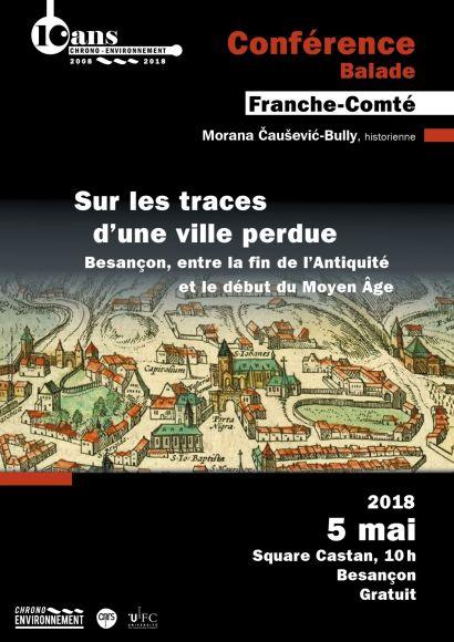 Affiche conférence Vesontio