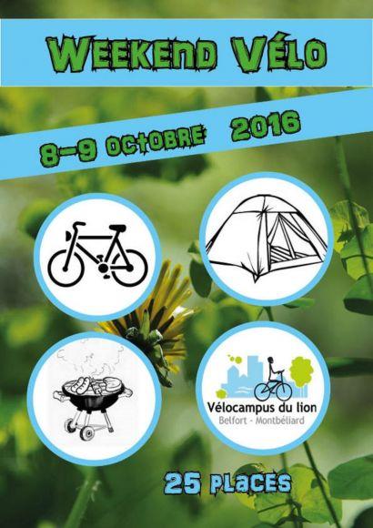Week-end vélo avec Vélocampus du lion