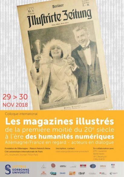 affiche Magazines illustrés