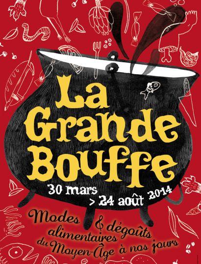 """Affiche de l'exposition """"La Grande Bouffe"""""""