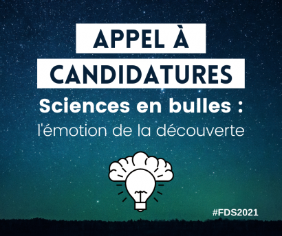 "Appel à candidatures doctorants - BD ""Sciences en bulles"""