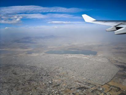 vue aérienne.