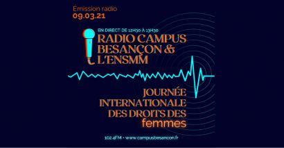 radio campus besancon 8 mars
