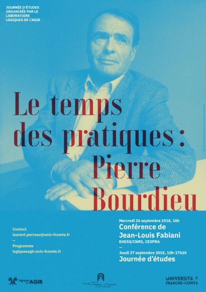 Affiche Bourdieu par Jacky Frossard
