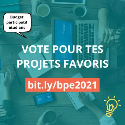 vote budget participatif étudiant