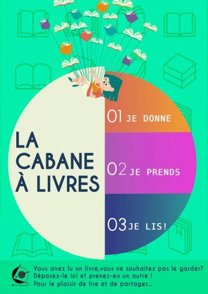 CABANE A LIVRES