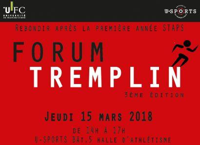 Forum Tremplin 2018