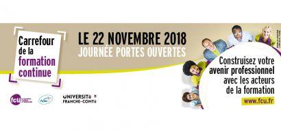 Carrefour de la formation continue le 22 novembre 2018