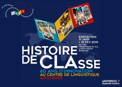 Affiche exposition Histoire de CLAsse
