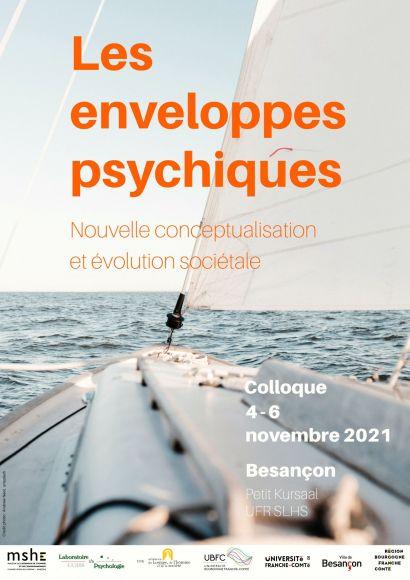 Colloque Les enveloppes psychiques. Nouvelle conceptualisation et évolution sociétale