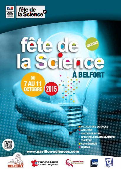 Fête de la science à Belfort du 9 au 11 octobre